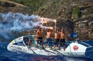 Новый рекорд на веслах через Атлантику установлен.