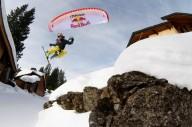 Эпичный спидрайдинг во французских Альпах