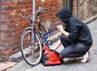 Кражи велосипедов в Харькове, 2015: статистика МВД