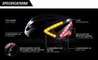 Lumos шлем, поворотники и сигнал тормоза