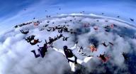 В Харькове скайдайверы установят новый рекорд