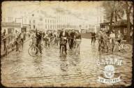 Батяры на велосипедах 7 мая во Львове.