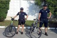Велопатруль - новое подразделение полиции в Днепре