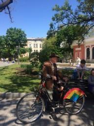 Ретро-велопробег состоялся в Одессе