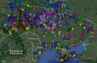 Электронная карта туристических мест Украины