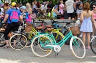 В Харькове прошел 5-ый женский велопарад