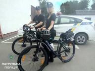 В Ивано-Франковске стартовал велопатруль полиции