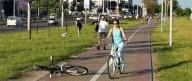 Велосипедист избил пешехода