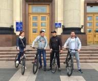 Парклет вместо парковки: в Харькове прошел