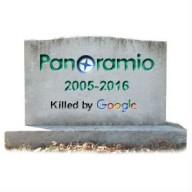 Сервис Panoramio закрывается