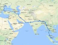 Одессит отправился в Сингапур на велосипеде