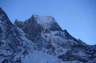 Новый маршрут на швейцарскую вершину Пиц Бадиле