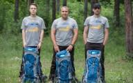 От Чернигова до Херсона: трое киевлян прошли пешком 1100 км