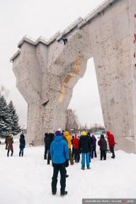 В Харькове состоялся открытый кубок области по ледолазанию