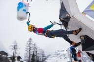 Харьковчанин выиграл медаль по ледолазанию