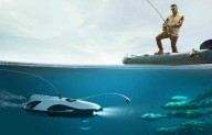 Подводный дрон для любителей нестандартной рыбалки