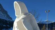 Украинцы победили на фестивале снежной скульптуры