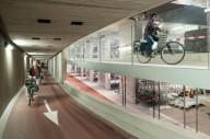 В Голландии открывают подземный гараж для велосипедов