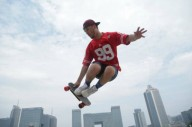 Cамый маленький в мире скейт с пультом управления