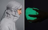 Светящаяся куртка для бега