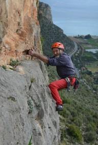94-летний швейцарец установил рекорд на скальном маршруте