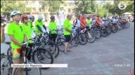 Стартовал украинско-литовский велотрур городами Донбаса