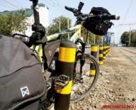 В Виннице установили защитные столбики для велосипедистов