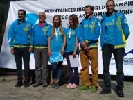 Украинская женская команда на Чемпионате Мира по альпинизму