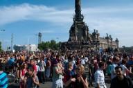 В Барселоне власти города активно борются с приезжими