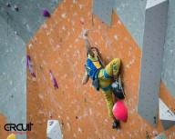 Украинские скалолазы в десятке на этапе Кубка Мира