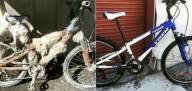 Брошенные велосипеды на фестивале Burning Man
