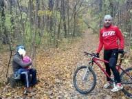 В Харькове велосипедист нашел брошенного ребенка
