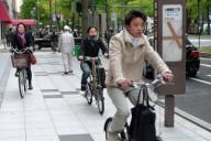 Японские велосипедисты срочно оформляют страховки