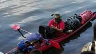 Путешественник провел в море несколько суток без еды и сна