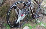 Колесо для велосипеда, с которым не нужно крутить педали