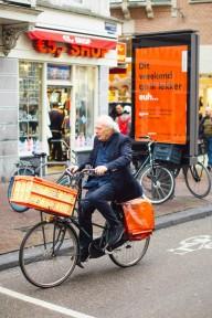 Велосипедная жизнь в Амстердаме