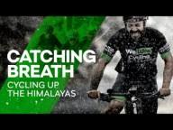 Велосипедист заехал на гору в Гималаях высотой 5359 метров