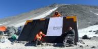 На вулкане открылась самая высокая хижина в мире