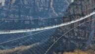 Китайцы открыли самый длинный стеклянный мост в мире