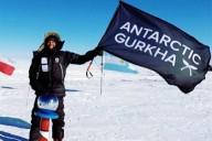 Британец в одиночку покорил Южный полюс