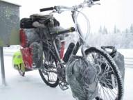 61-летний француз путешествует по Якутии на велосипеде