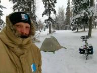 Украинец едет на велосипеде от Аляски до Мексики