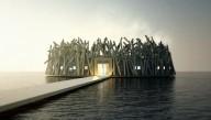 Арктическое оздоровление предлагает шведский плавающий отель