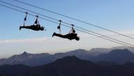 В ОАЭ открыли самый длинный в мире троллей