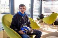 Львовский студент создал умный аксессуар для велошлемов