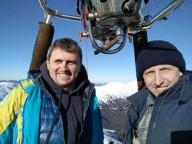 Первый перелет на воздушном шаре через Черногорский хребет