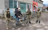 Пограничники задержали немца на велосипеде