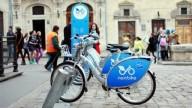 Велопрокат во Львове снизил цены на разовые поездки