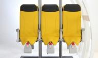 В Германии представили стоячие кресла для самолетов