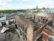 В Германии сгорел один из крупнейших скалолазных залов